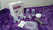 REAL BUBEE Electric Breast Pump Twins Bottle *2nd 98% (TJ.342-14/KNA)