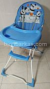 Highchair merk BABY LOVE warna Biru motif panda*2nd (TJ.367-2/KZF)