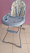 Highchair merk JUNIOR warna Putih Biru *2nd (TJ.319-KFA)